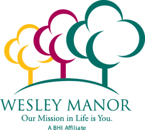Wesley Manor logo