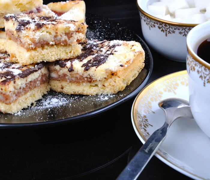 Desserts & coffee at Wesley Manor