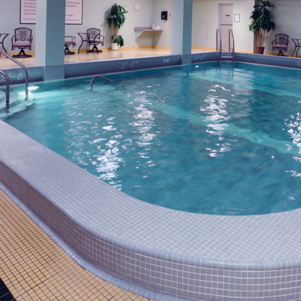 Wesley Manor indoor swimming pool