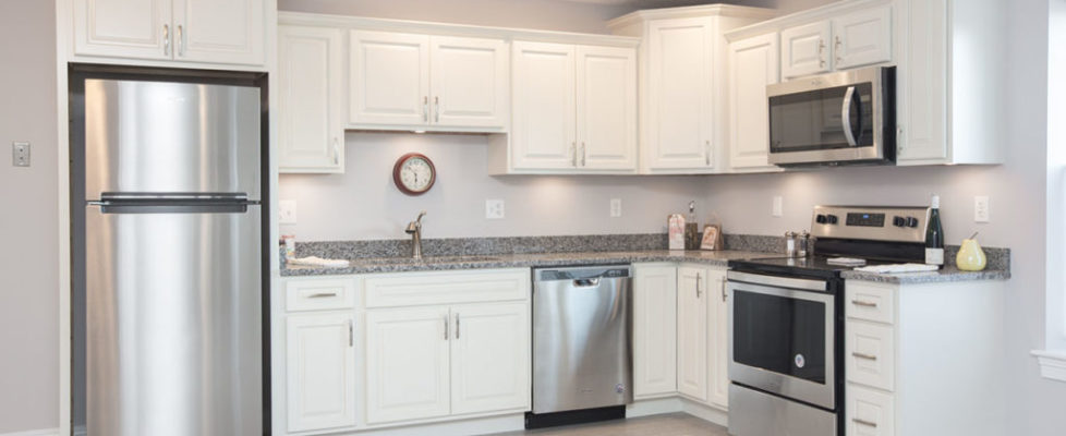 Wesley Manor Apartment Kitchen